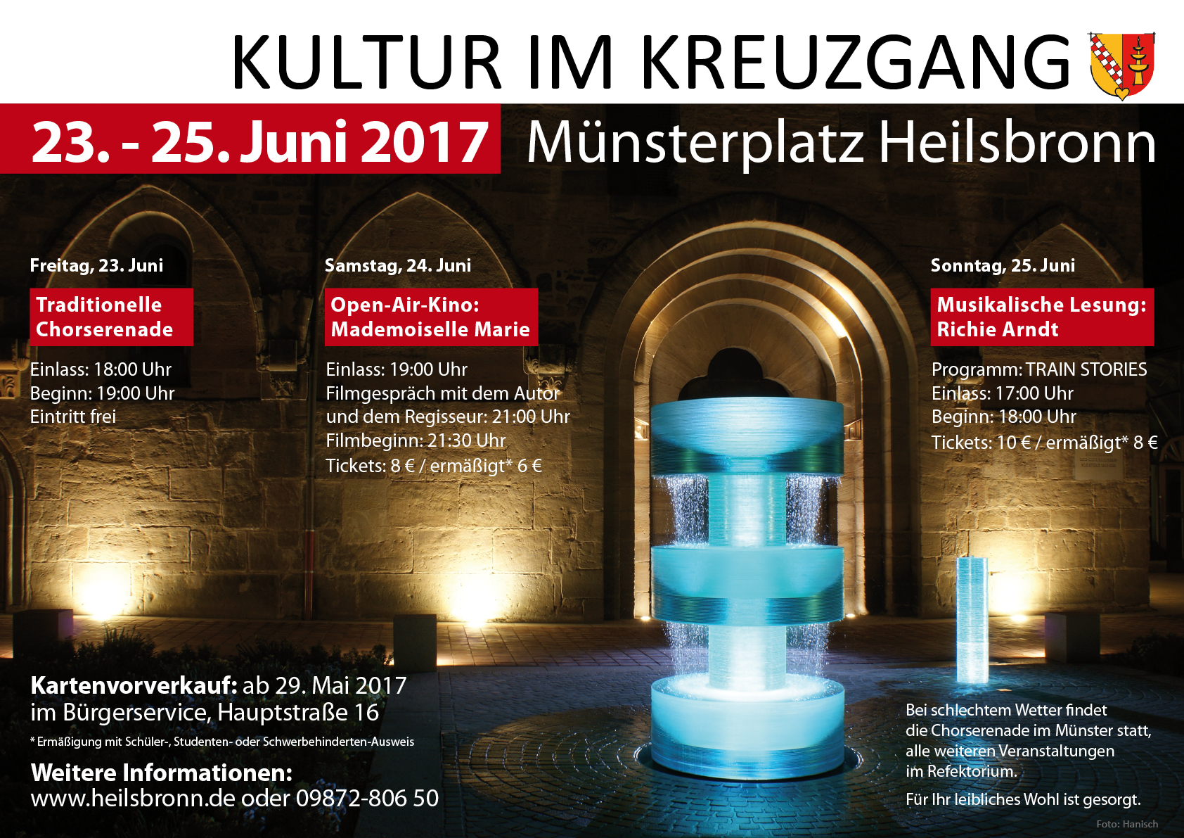 Open-Air-Vorstellung In Heilsbronn
