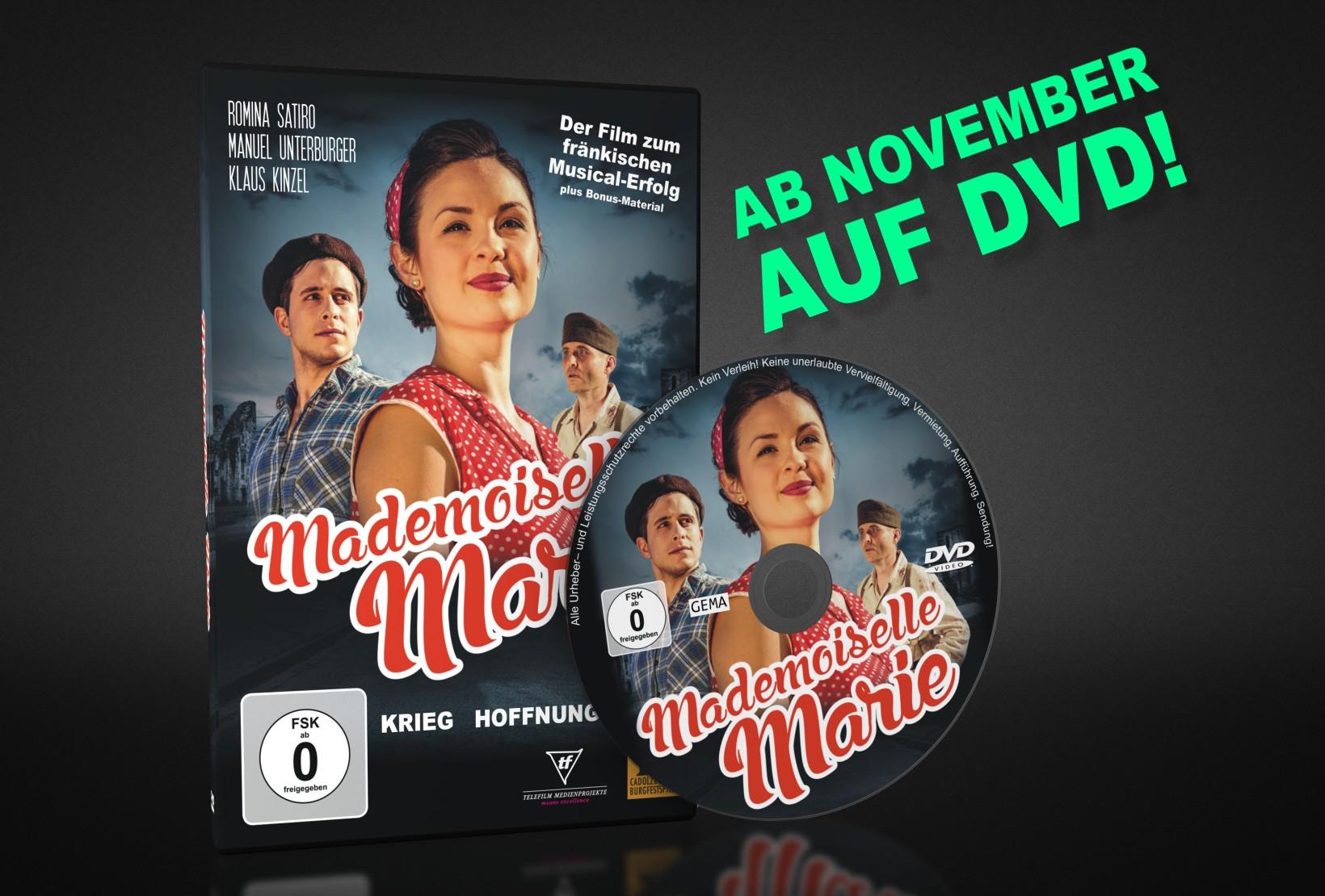 """Mademoiselle Marie"" ab November auf DVD!"