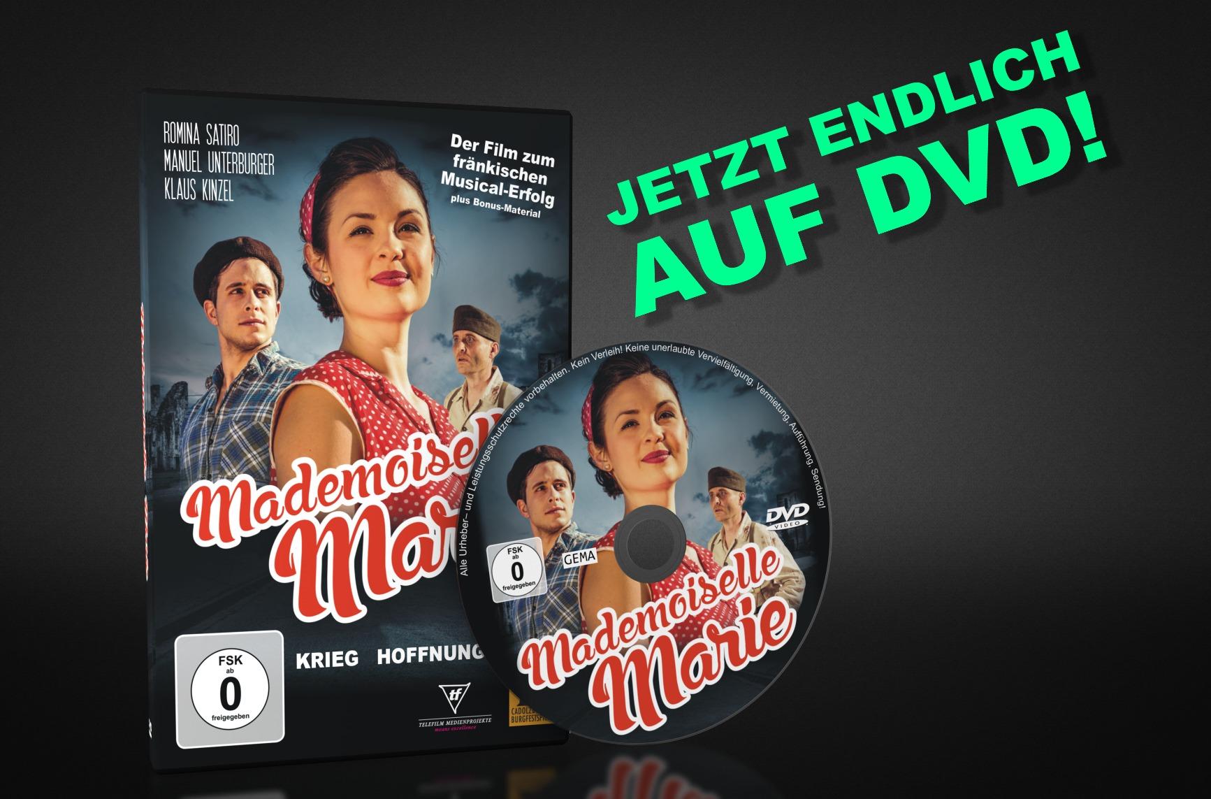 """""""Mademoiselle Marie"""" DVD jetzt lieferbar!"""